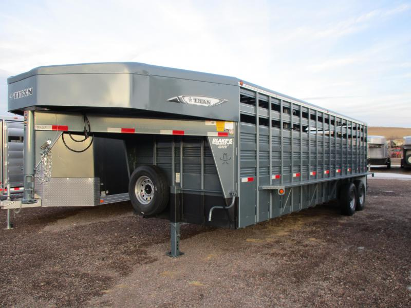 2018 Titan Trailers Standard Livestock Trailer