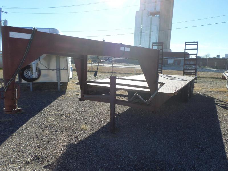 1998 Homemade Flatbed Flatbed Trailer