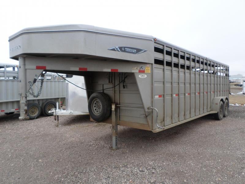 2012 Titan Trailers Stock Trailer Livestock Trailer