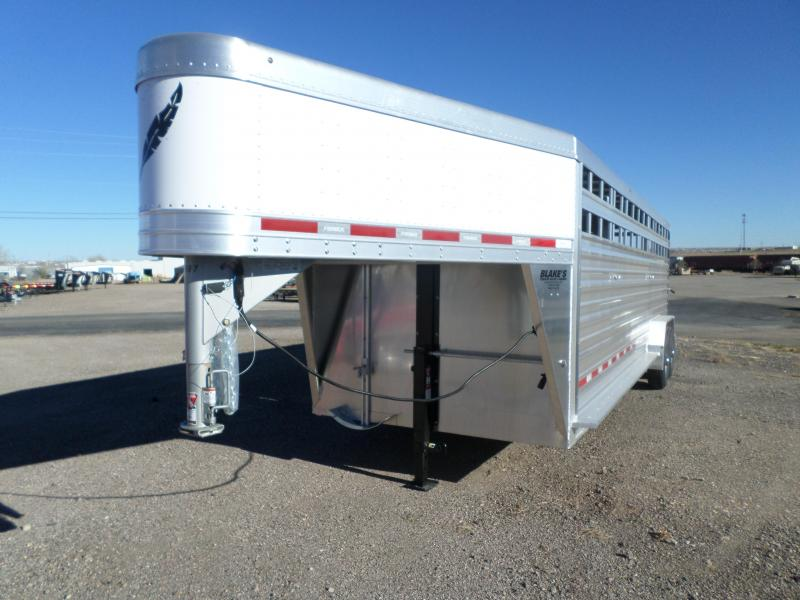 2017 Featherlite 8127-7024 Livestock Trailer