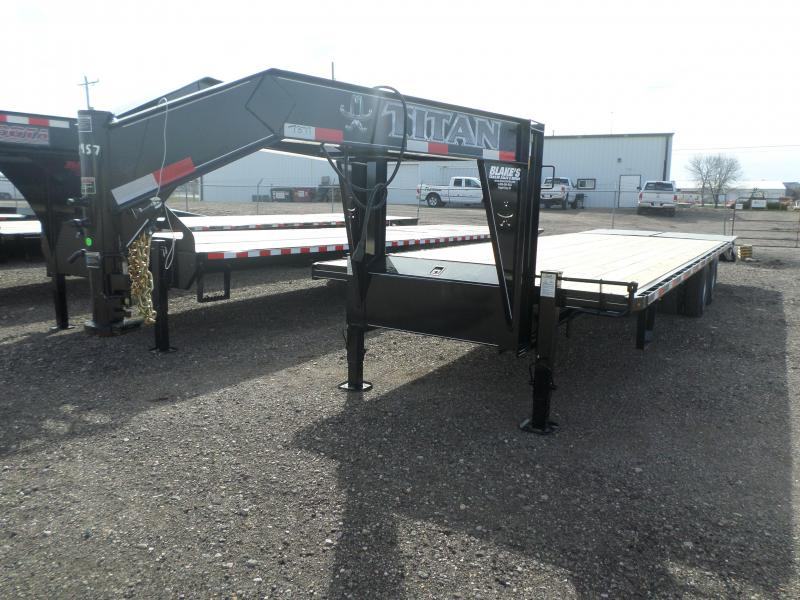 2016 Titan Trailers Flatbed