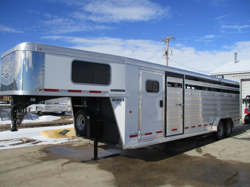 2018 Logan Coach Stock Combo Livestock Trailer 7 X 26