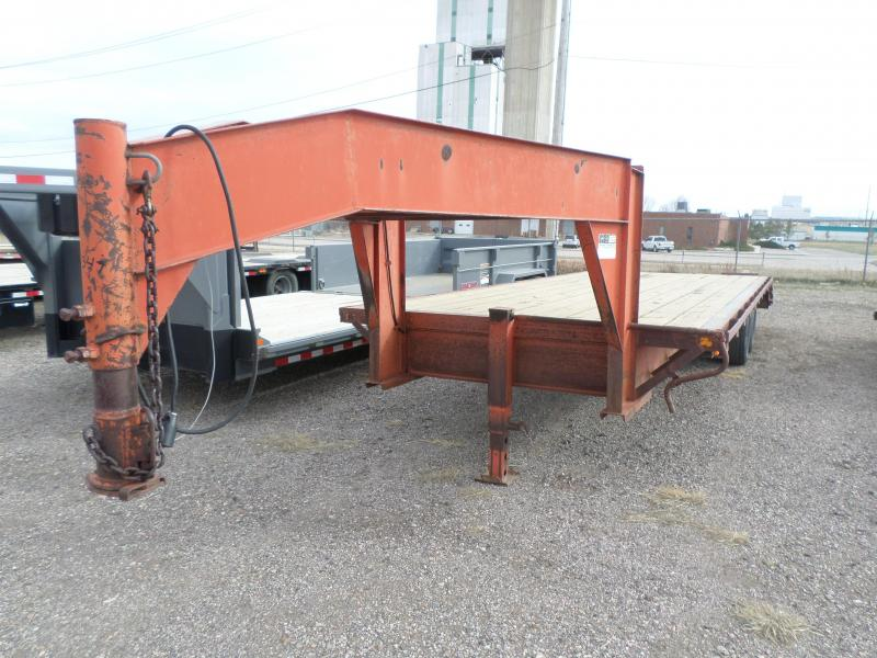 1989 Top Hand Flatbed Trailer