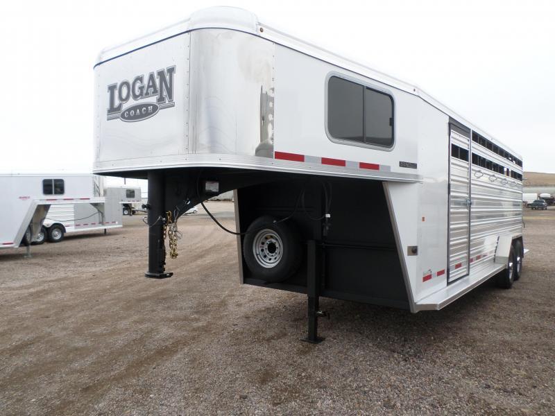 2017 Logan Coach Combo Livestock Trailer