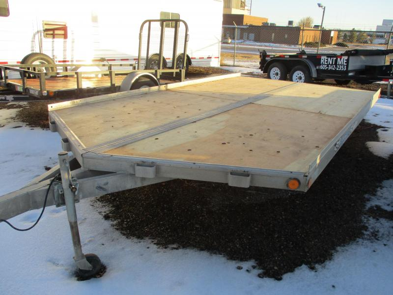 2002 Triton Sled trailer Snowmobile Trailer 8 X 14