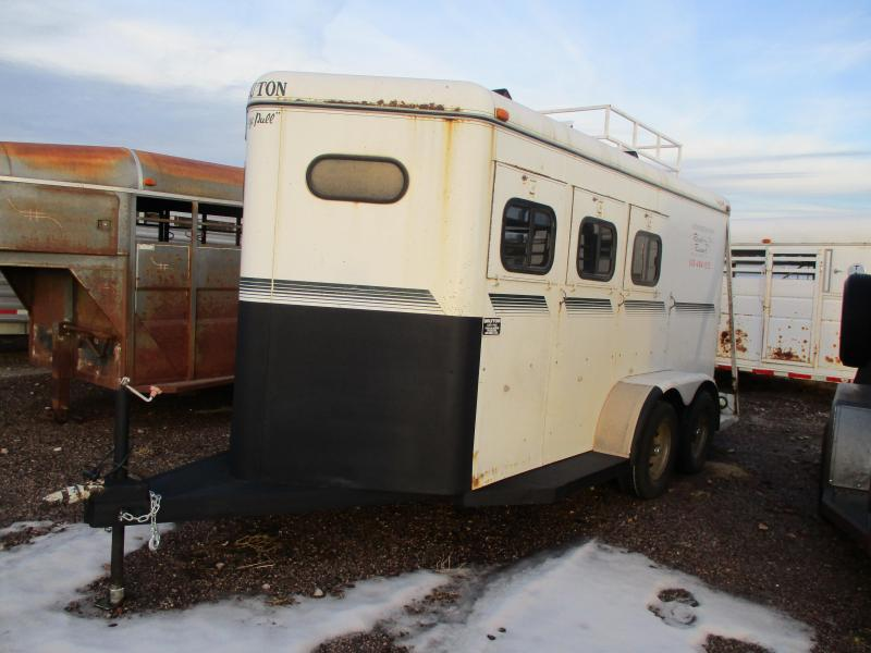 1997 Bruton Trailers Horse Trailer 6'8 X 16