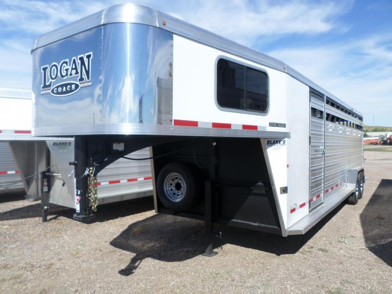 2018 Logan Coach Stock Combo Trailer 7 X 24
