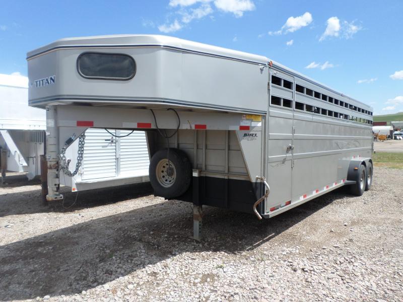 2012 Titan Trailers Stock Livestock Trailer