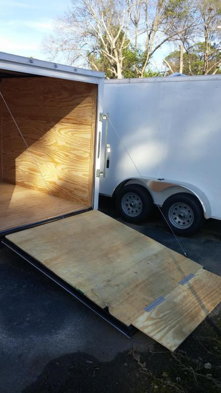 2018  6 X 12 SA Enclosed Trailer w/ Ramp Door