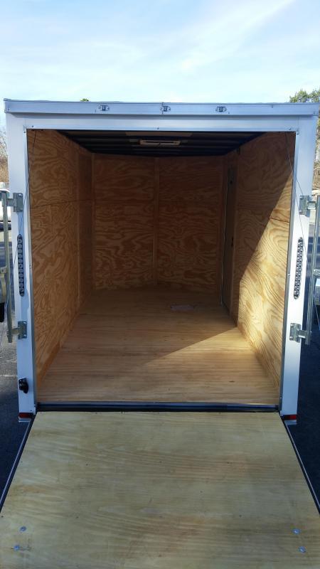 2018  6 X 12 SA Enclosed Trailer w/ Ramp Door