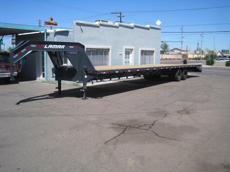 2019 Lamar Trailers FD-12k-40-MR Flatbed Trailer