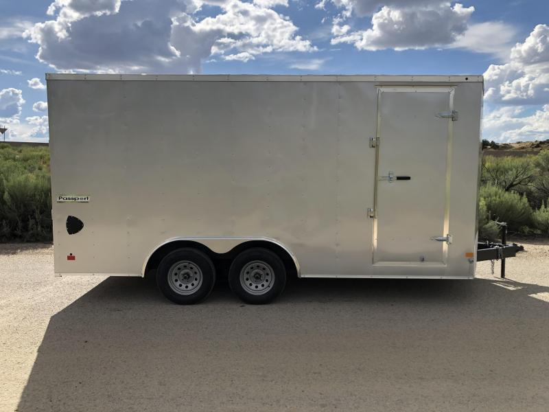 2019 Haulmark 8.5x16ft Passport Enclosed Cargo Trailer