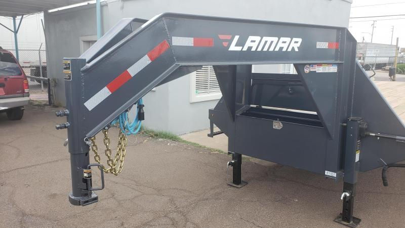 2019 Lamar Trailers FD-12k-30-MR Flatbed Trailer