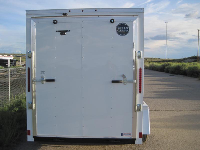 2019 Wells Cargo 6x10ft Fast Trac Enclosed Cargo Trailer