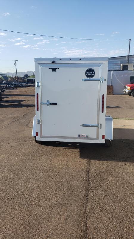 2019 Wells Cargo Fast Trac 5' x 8' Enclosed Cargo Trailer