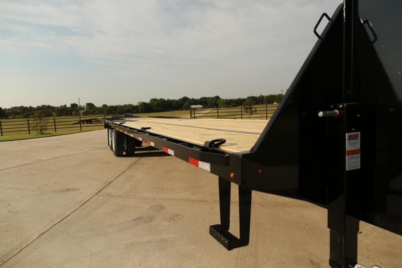 Lamar Deck Over Gooseneck- Lowest Prices- Free Delivery- High Desert Trailers