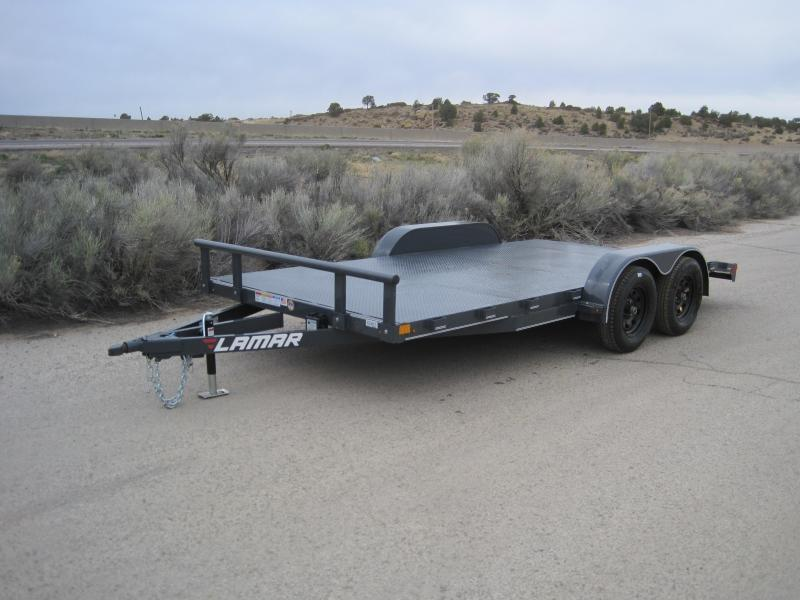 2019 Lamar Trailers CE-3.5k-16 Steel Deck Car / Racing Trailer