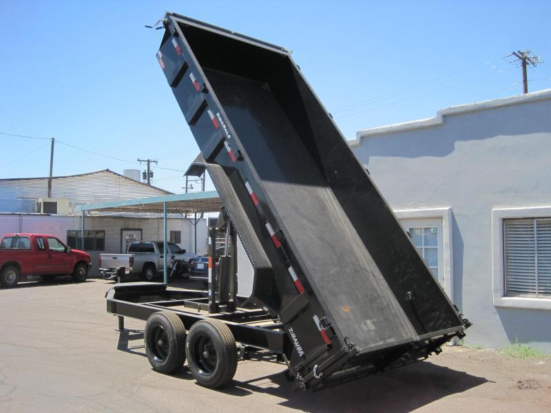 2019 Lamar Trailers DL-16k-16 Dump Trailer 16000lb GVWR