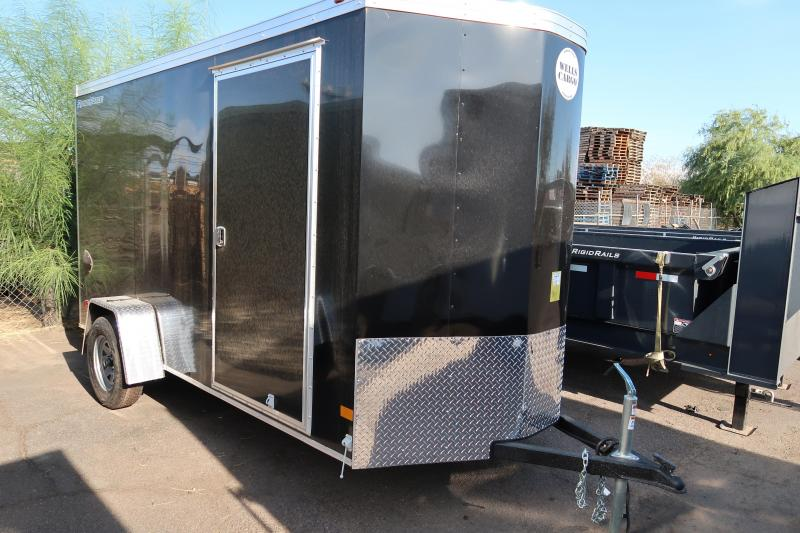 2019 Wells Cargo 7x12ft Road Force Enclosed Cargo Trailer