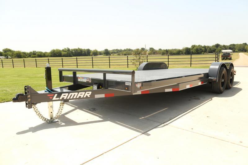 2019 Lamar Trailers CC-5.2k-20 Steel Deck Car / Racing Trailer