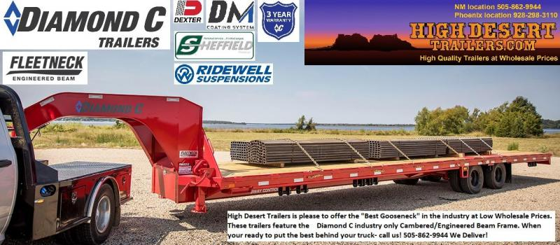 Diamond C Goosenecks- Put the Best behind your truck- Free Delivery- High Desert Trailers