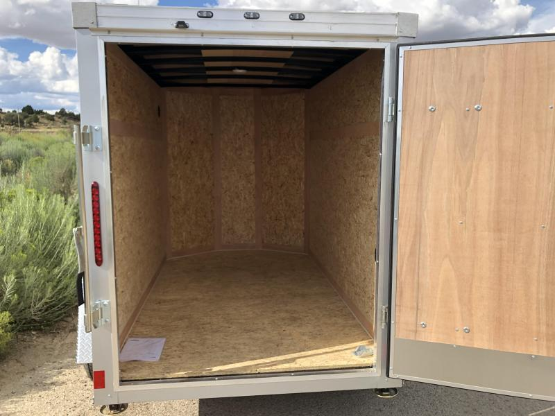 2019 Wells Cargo 5x8ft Road Force Enclosed Cargo Trailer