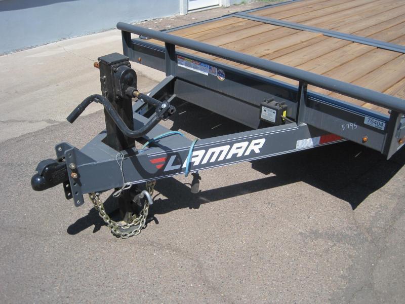 2019 Lamar Trailers TD-14k-20ft Equipment Trailer