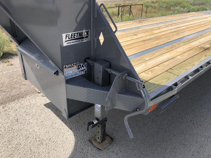 2019 Diamond C Trailers Fmax-212-30-MR- Flatbed Trailer