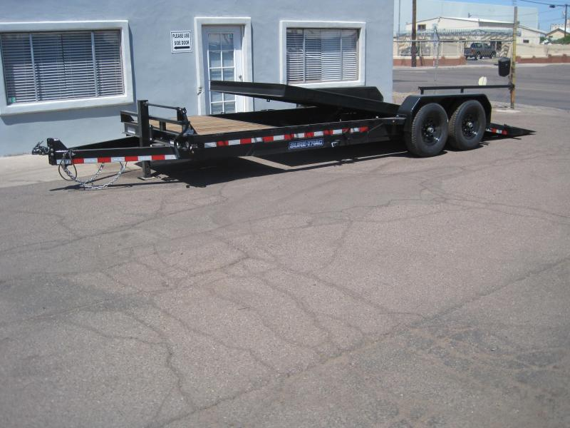 2019 Sure-Trac Trailer TD-14k-20ft Equipment Trailer