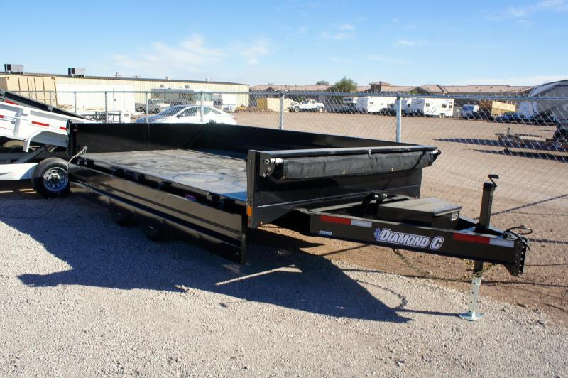 2017 Diamond C Trailers 25DOD 14 x 96 Deckover Dump Trailer