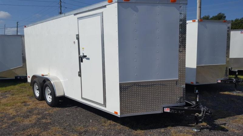 2018 7 X 16 Enclosed Cargo Trailer (AMP BUILT)