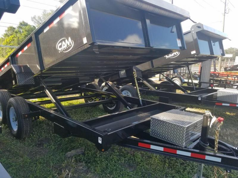 2018 Cam Superline 7 X 14 Dump Trailer