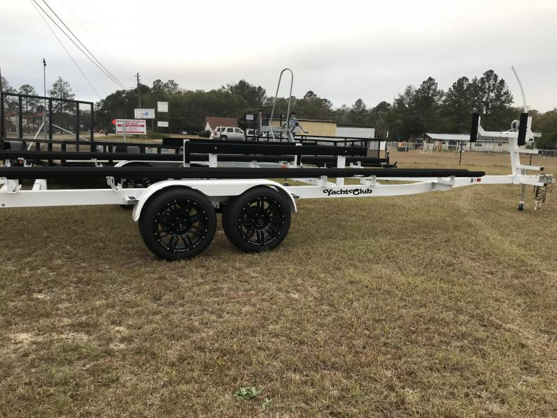 2018 22ft Tandem Axle Pontoon Trailer Boat Trailer