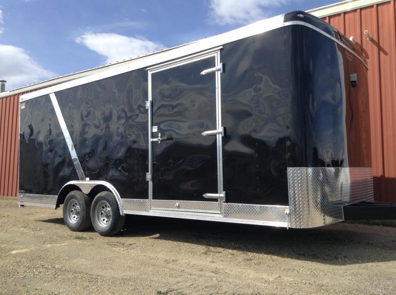2017 20' Car-hauler Enclosed Trailer