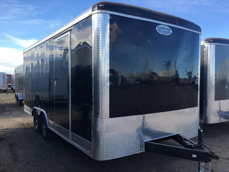 2018 Continental Cargo Trailer 18' with Ramp 3500# Axles