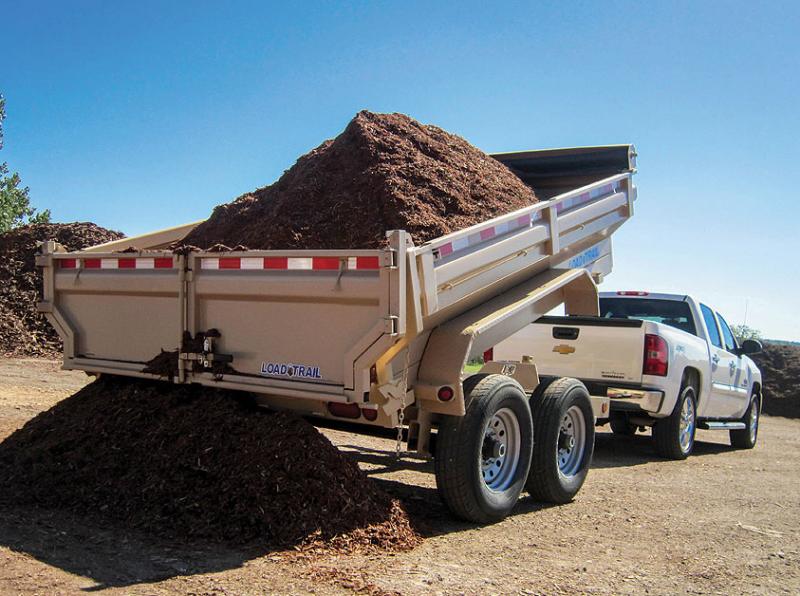 2016 Load Trail 7' x 16' King Bed Dump