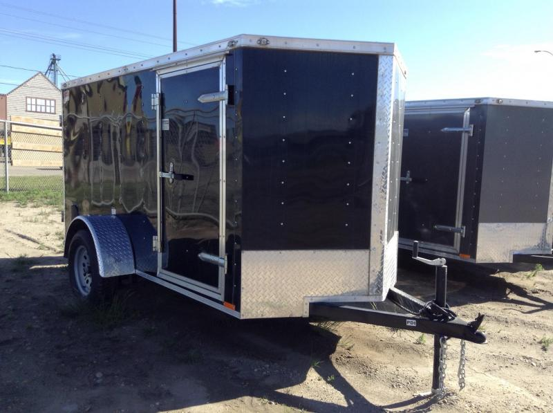 2018 5' x 10'Continental Cargo V-Hauler Enclosed Cargo Trailer