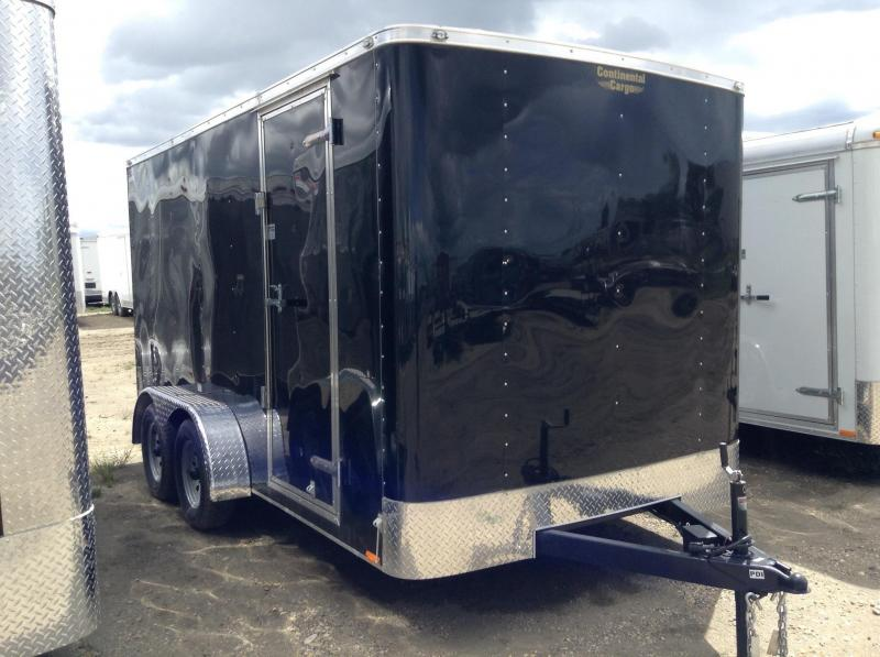 2017 7' x 14' Enclosed Cargo Trailer w/ Ramp