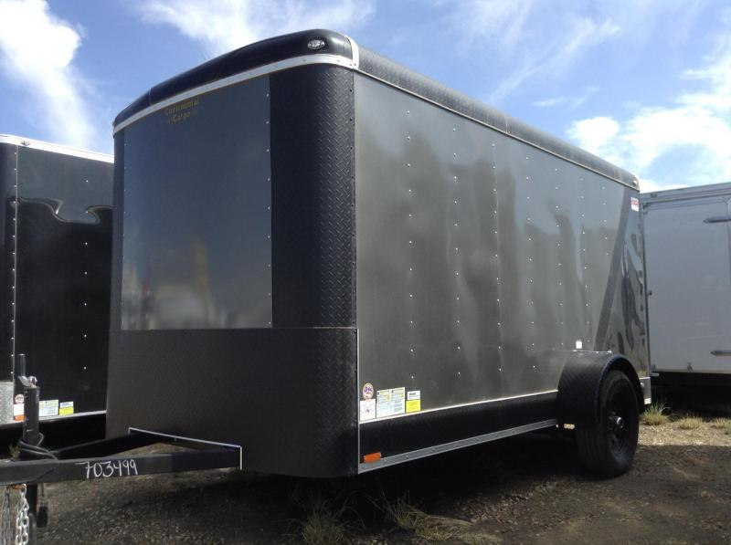 6x12 Tailwind Enclosed Cargo Trailer W/ Ramp