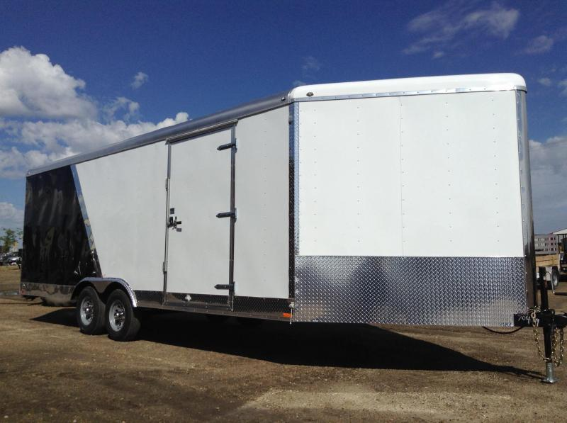 2017 Continental Cargo 27' V-Nose Enclosed Cargo Trailer