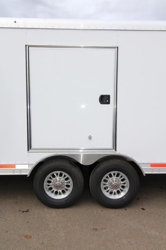 2018 Featherlite 4926 - 24' Enclosed Car Trailer- All Aluminum -
