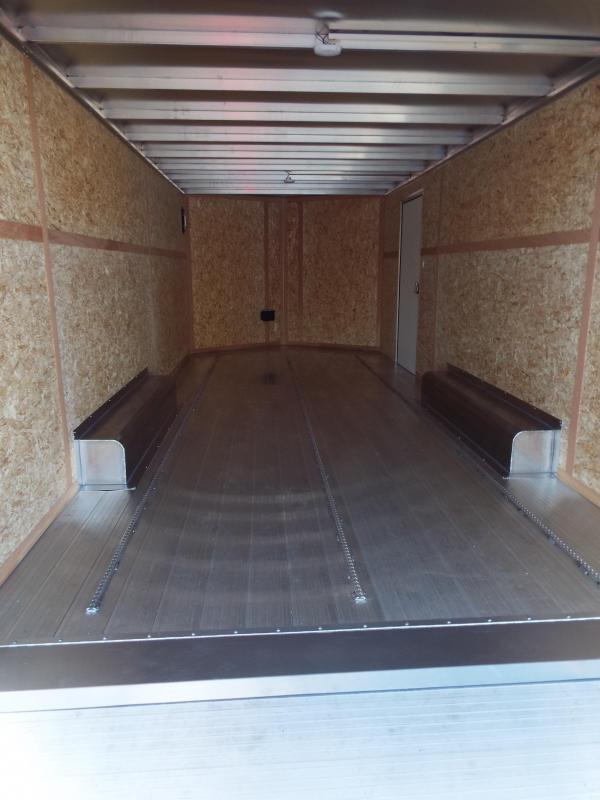 """2018 Featherlite 1620 20 ft Long Car Hauler 8'6"""" Wide - All Aluminum - Car / Racing Trailer"""