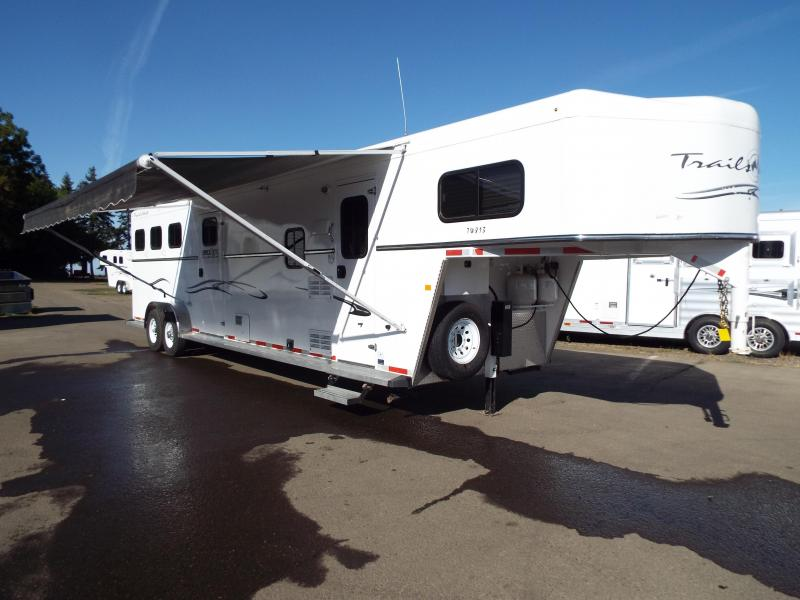 2015 Trails West classic 8x13 full angled mid tack room