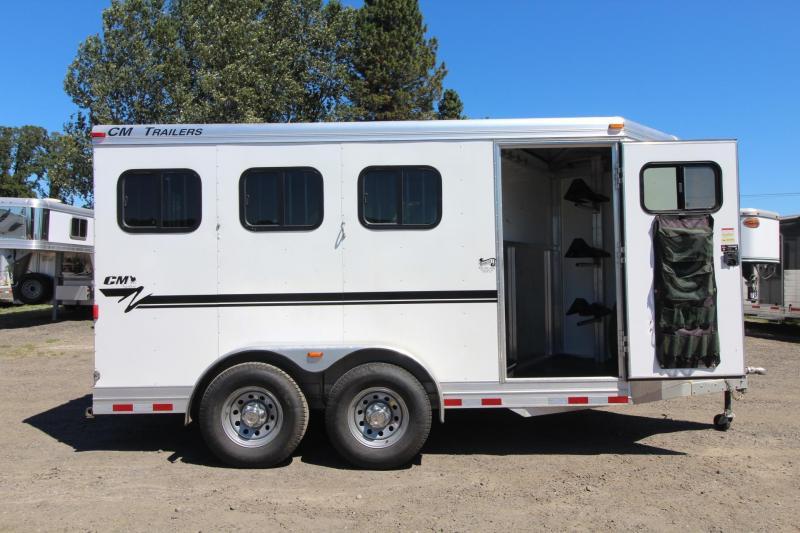 2015 CM Nomad 3 Horse Aluminum Trailer