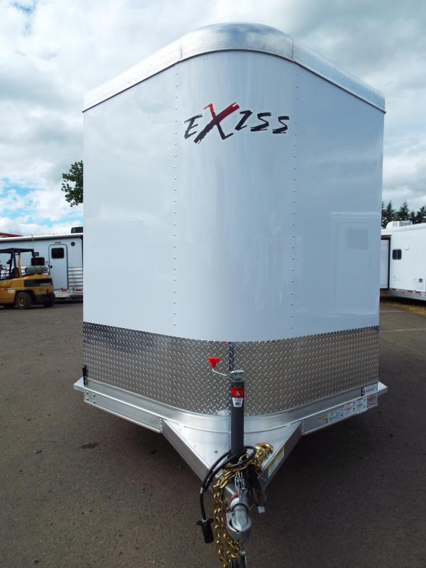 2017 Exiss Express XT 2 Horse Trailer - All Aluminum - UPGRADED EASY CARE FLOORING