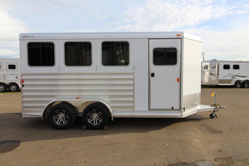2018 Exiss Express XT 3 Horse Trailer - All Aluminium - Easy Care Flooring - Air Flow Dividers