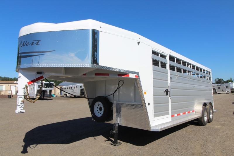 2017 Trails West Santa Fe stock Trailer