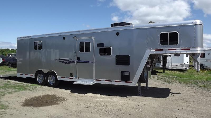 2017 Featherlite All Aluminum Toy Hauler with Living Quarters - CUSTOM ORDER -ONLY AVAILABLE BY ORDERING