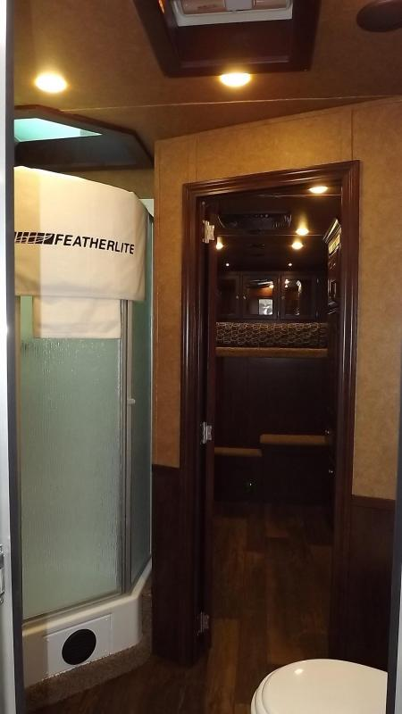2017 Featherlite All Aluminim Custom Ordered Car Hauler with Living Quarters-ONLY AVAILABLE BY ORDERING