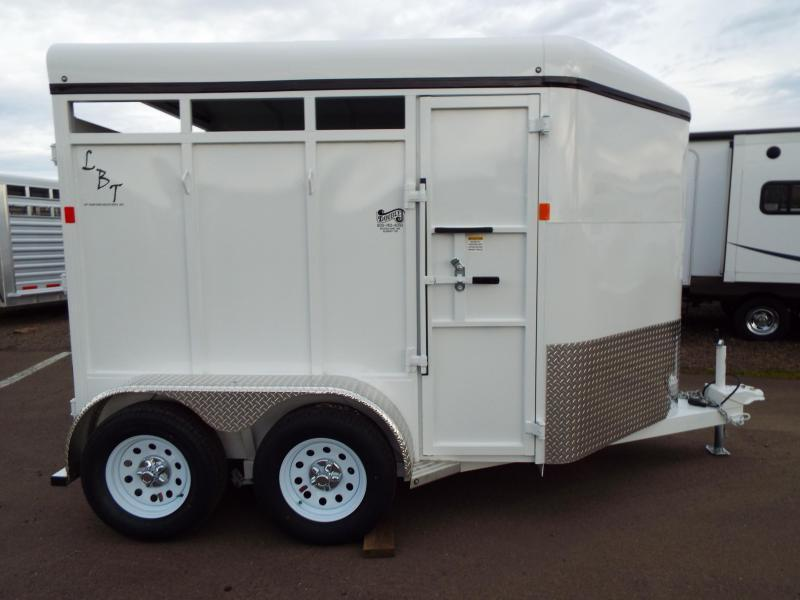 2016 Fabform Vision LBT - 2 Horse Galvanized Steel - w/ Swinging Tack Wall Horse Trailer - REDUCED $200